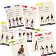 Hip Hop Tots Dance Choreography Cards