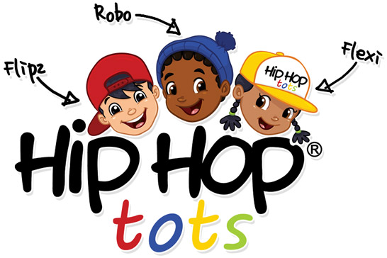 Hip Hop Tots - the Animated Television Series Flexi, Flipz and Robo
