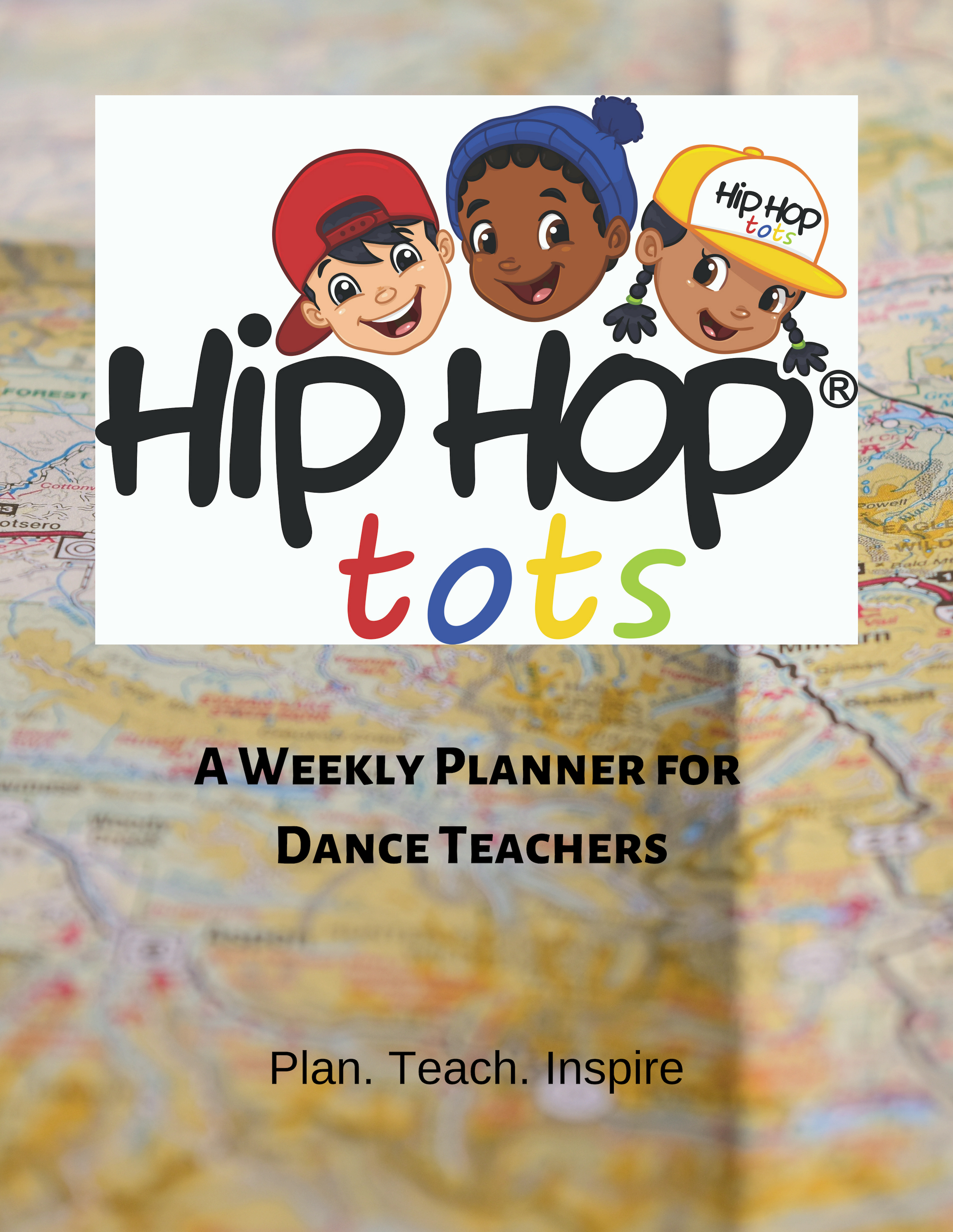 Hip Hop Tots Weekly planner for dance teachers
