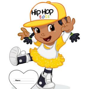 Hip Hop Tots Notebook - Flexi